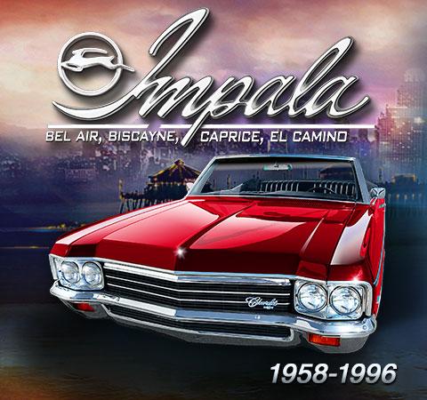 1958-1996 Chevy Impala / Full Size