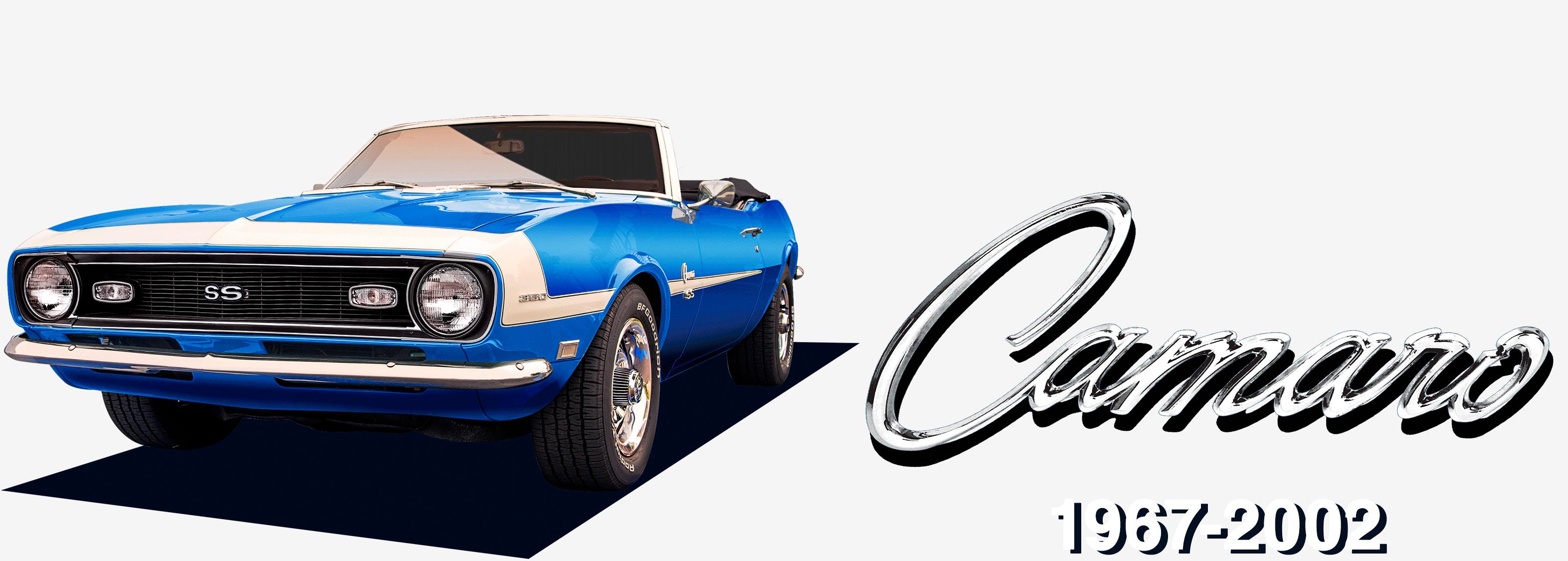 1957-2002 Camaro
