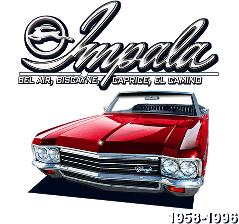 19581996 Chevy Impala Full Size Parts And Accessories. Impala Bil Air Biscayne Caprice El Camino 19581996. Chevrolet. 2002 Chevy Impala Parts Diagram Under Hood At Scoala.co