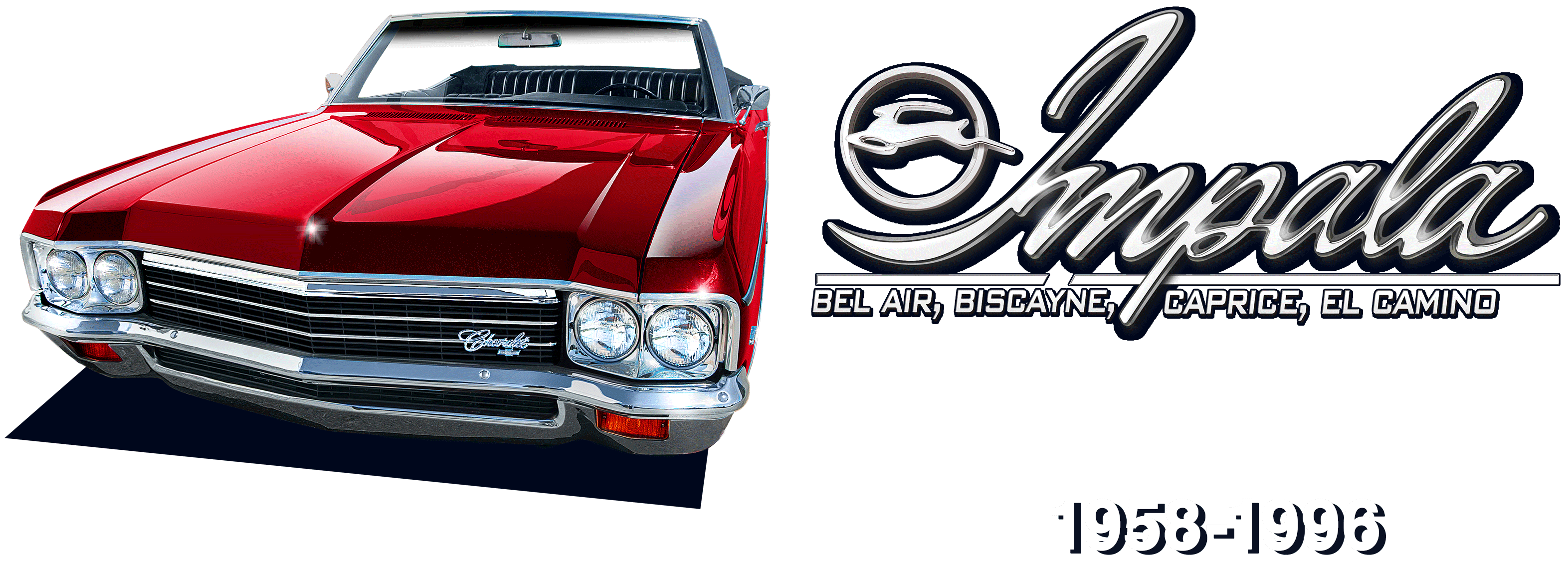 Impala Bel Air, Biscayne, Caprice, El Camino 1958-1996