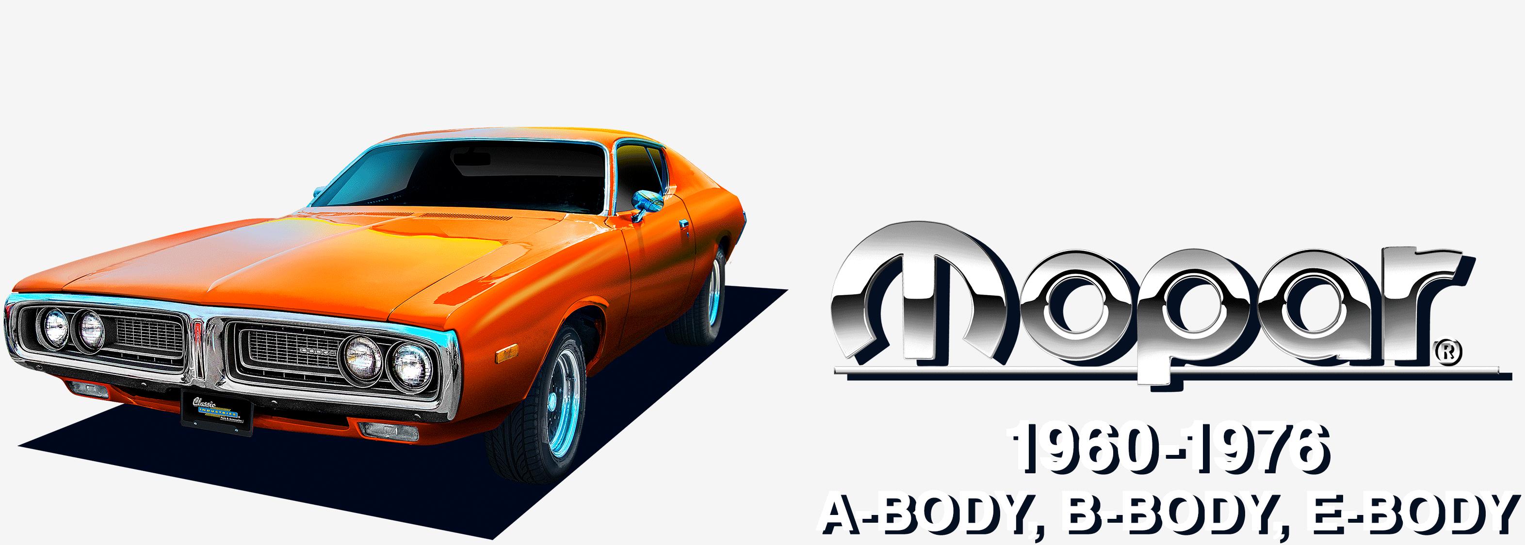 Mopar 1960-1976 A-Body, B-Body, E-Body
