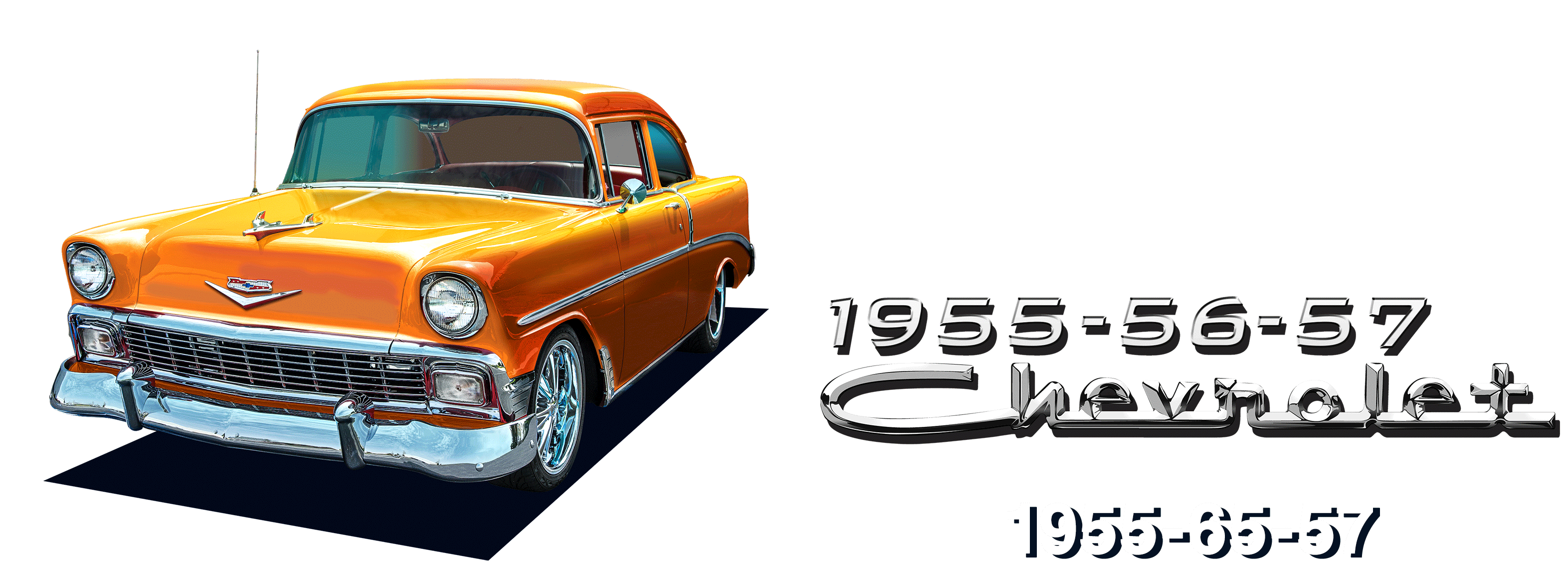 1955, 1956, 1957 Tri-Five Chevy Parts and Accessories